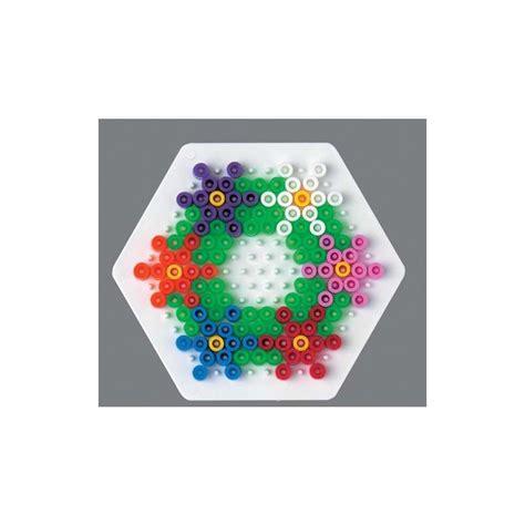 modele de cuisine plaque perles à repasser hama midi hexagonal petit modèle