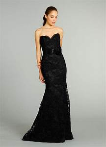 mermaid trumpet 4 6 8 10 black lace sweetheart With black lace dress for wedding