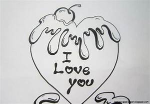 Cute Love Drawings For Your Girlfriend - Drawing Of Sketch