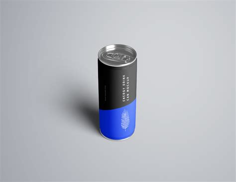 energy drink  mockup psd