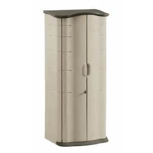 rubbermaid 2 ft x 2 ft vertical storage shed