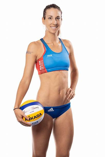 Beach Volleyball Larsen Height Kelley Players Emily