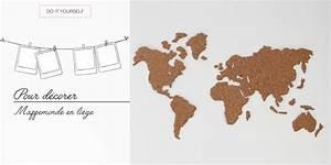 Mappemonde En Liege : diy pour d corer la mappemonde en li ge ~ Teatrodelosmanantiales.com Idées de Décoration