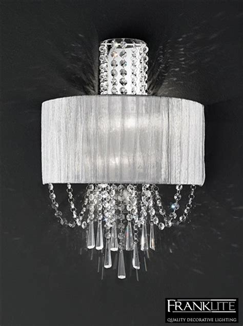 marco tielle hannah 2 light crystal wall lights freedom