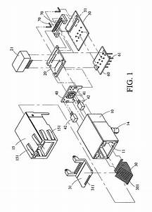 patent us7611383 rj45 connector device having key With rj45 wiring