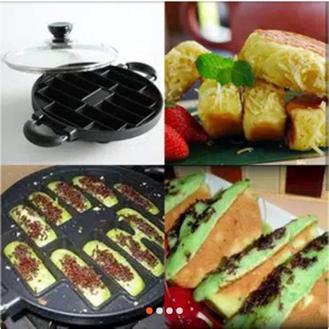 Kue bolu paling enak disajikan dengan segelas teh hangat atau kopi untuk menemani waktu bersantai bersama keluarga. CETAKAN KUE PUKIS 10 KEJU COKLAT PANGGANG PANCONG ...