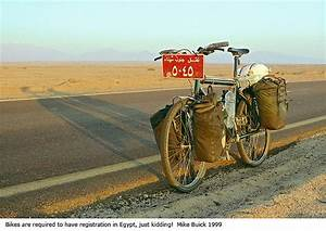 Number plate, Sinai Desert | Touring bike, Bicycling and ...