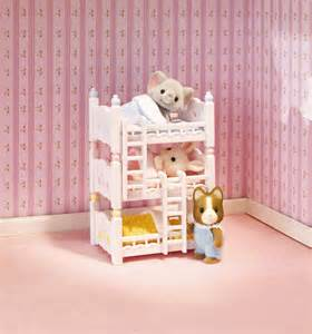 calico critters triple baby bunk beds at growing tree toys