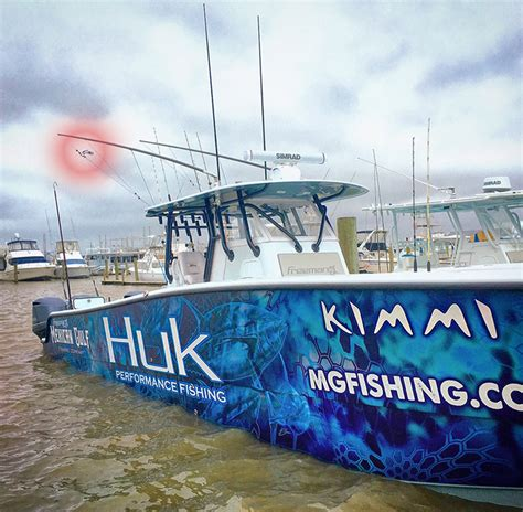 Huk Boat by Kimmi Makes Maiden Voyage With Blue Marlin Yellowfin