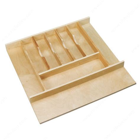 wooden drawer organizers kitchen trimmable wood cutlery tray richelieu hardware 1617