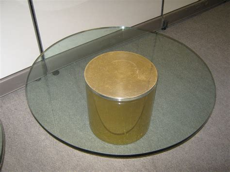 used 36 glass top coffee table broadway office