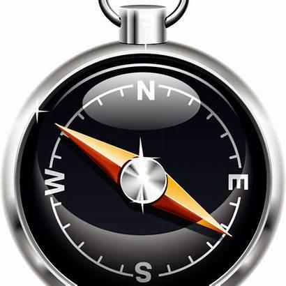 Compass Clipart Clip Transparent Kiblat Compas Kompas