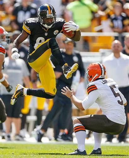 Nfl Football Brown Antonio Stars Steelers Worst