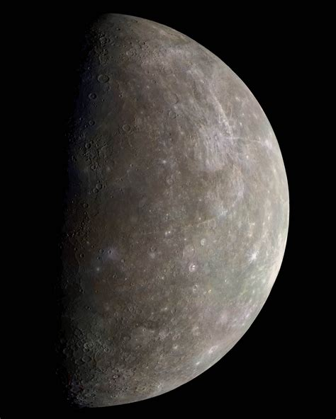 what color is mercury color of mercury planet pics about space