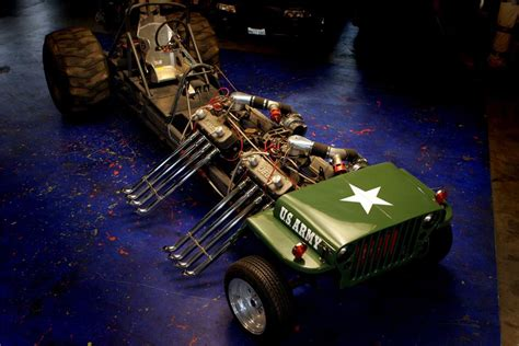 jeep willys custom 1945 jeep willys custom 39 army tractor pull 39 61597