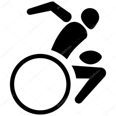 Pictogramme Fauteuil Roulant by Il S Agit De Sport Pictogramme Rugby En Fauteuil Roulant