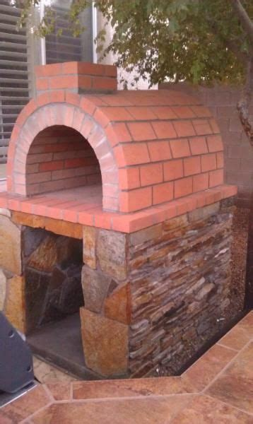 build  wood fired brick oven diy pizza oven