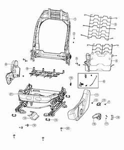2018 Jeep Compass Adjuster  Manual Seat   Manual Driver 6 Pass 6