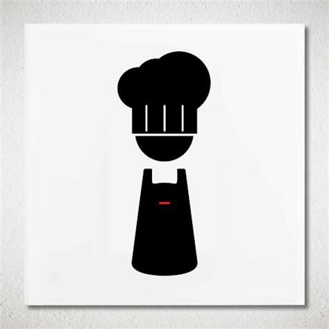 picto cuisine pictogramme cuistot plexiglas votre picto cuisine en