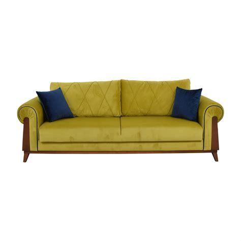 Green Sleeper Sofa by Kaiyo Quality Used Furniture