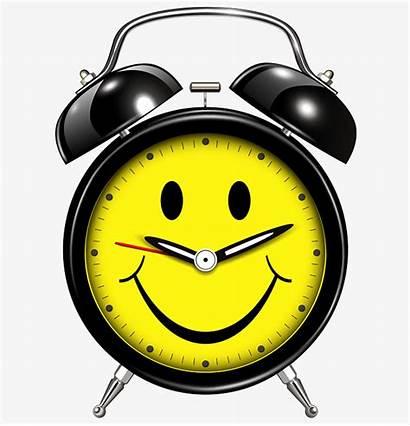 Clock Alarm Face Smiling Clipart Yellow Quasi