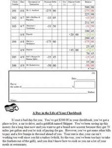 this check writing worksheet will give students practice
