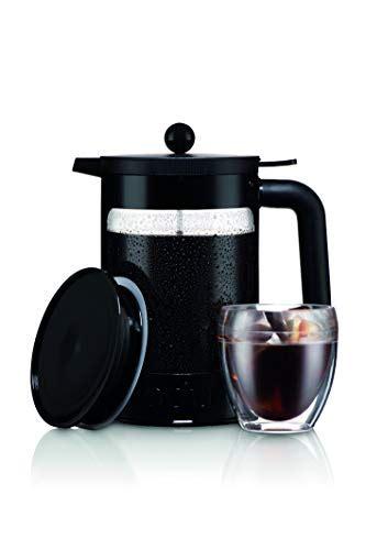 Coffee advanced brew coffee maker. Bodum K11683-01WM Bean Cold Brew Coffee Maker, 51 Oz, Jet Black - Coffeenza