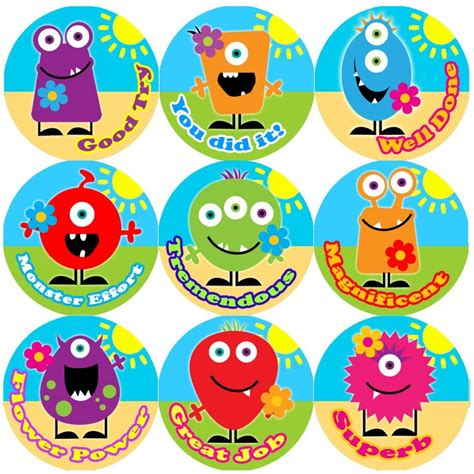 These Colourful Monster Flowers Praise Words Reward