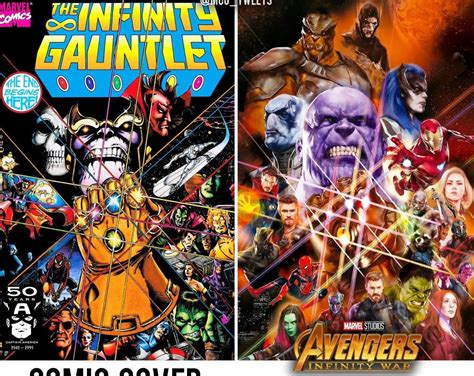 avengers thanos infinity war saga comic digital bs
