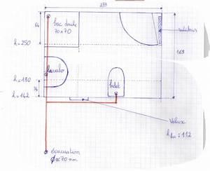 Plan Petite Salle D Eau : probl me am nagement petite salle d 39 eau en sous pente ~ Dallasstarsshop.com Idées de Décoration