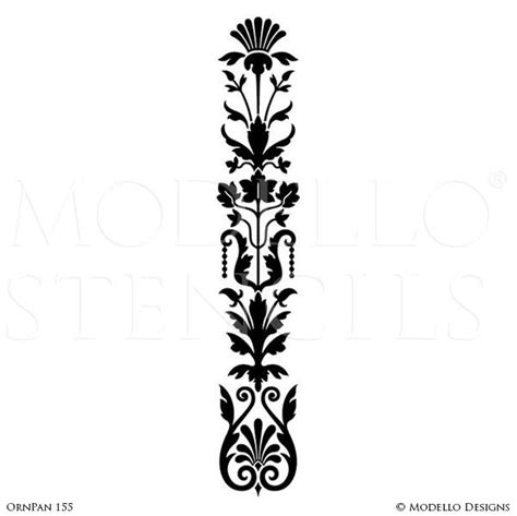 painted large wall art graphics stencils custom modello stencils modello designs