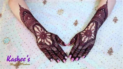 Our mehndi art is so much famous in whole pakistan and worldwide. KASHEE`S SIGNATURE MEHNDI - YouTube
