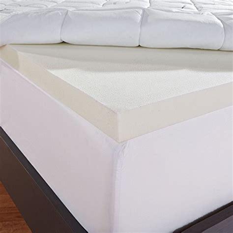 fiber mattress topper sleep innovations instant pillow top memory foam and