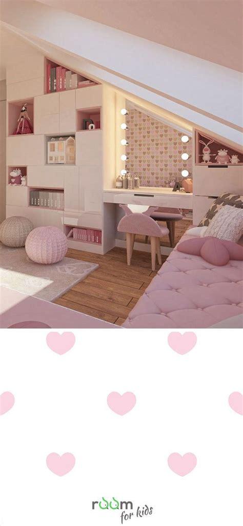 Kinderzimmer Deko Weiss by Gestaltungsidee F 252 R Ein M 228 Dchenzimmer Im Rosa Design