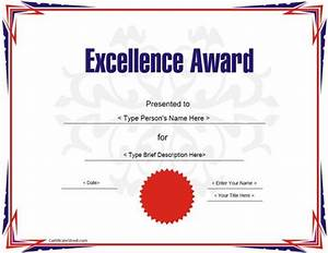 Education certificate award certificate template for for Free educational certificate templates