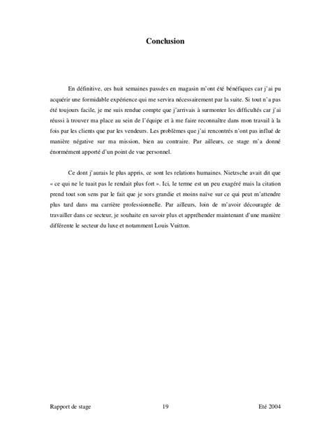 exemple de rapport de stage vente pret a porter document