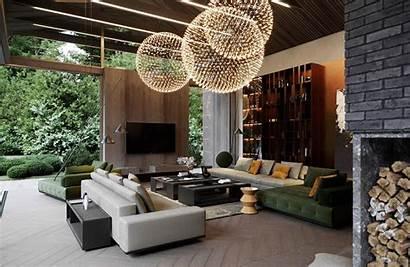 Living Luxury Rooms Interior Modern Lighting Tips