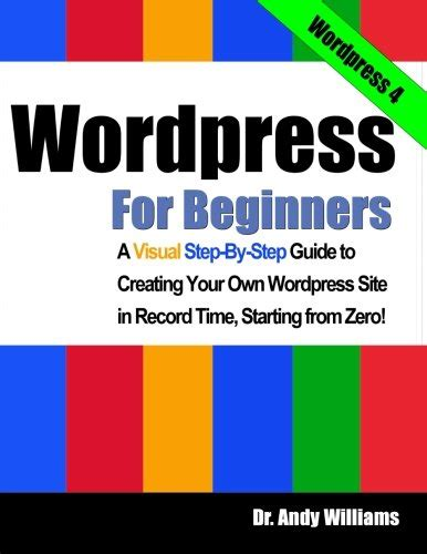 book   canada  wordpress  beginners