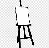 Easel Clipart Clip Painting Cliparts Clipground Webstockreview sketch template