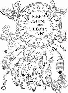 Keep calm and dream on | coloring pages in 2018 ...