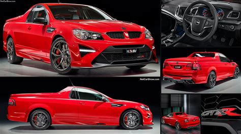 hsv gtsr maloo  pictures information specs