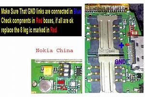 Nokia N82 China Charging Problem Solution Ways Jumpers