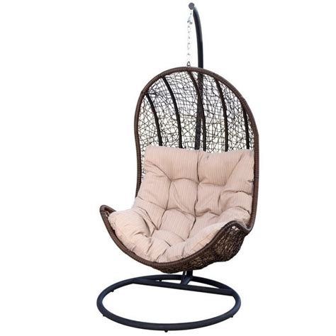 egg shape chairs abbyson living sonoma outdoor wicker egg shaped chair in