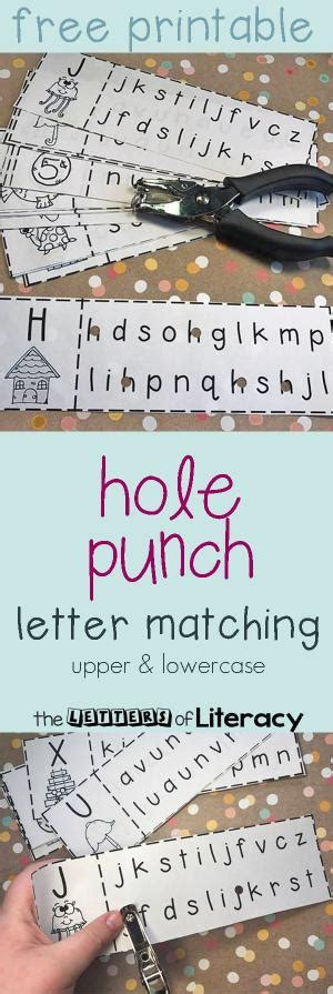 Abc Cut And Paste Fonts! Helps With Upper And Lowercase Letter Identification, Letter Formation