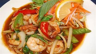 Shrimp Basil Spicy Thai Allwallpaper