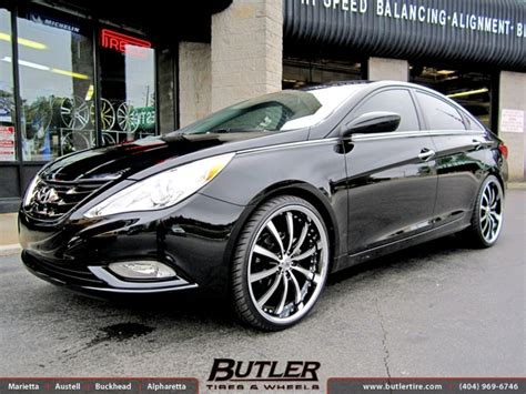 Lights dimming after i installed subwoofer and amp in 2007 hyundai sonata 3.3l v6 2 answers. Hyundai Sonata with 22in Lexani LSS10 Wheels exclusively ...