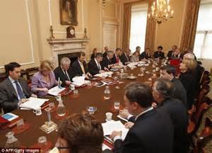 The Government Cabinet - cabinet discussing spending cuts