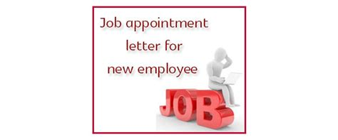 sample appointment letter  driver