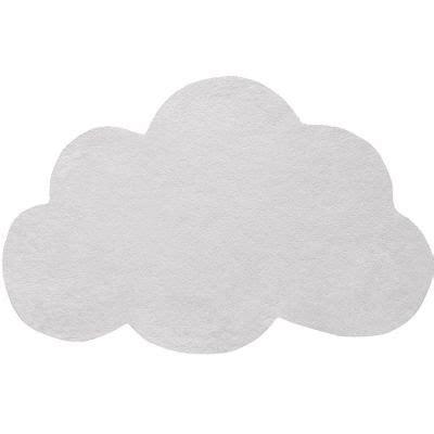 tapis coton nuage gris clair    cm lilipinso