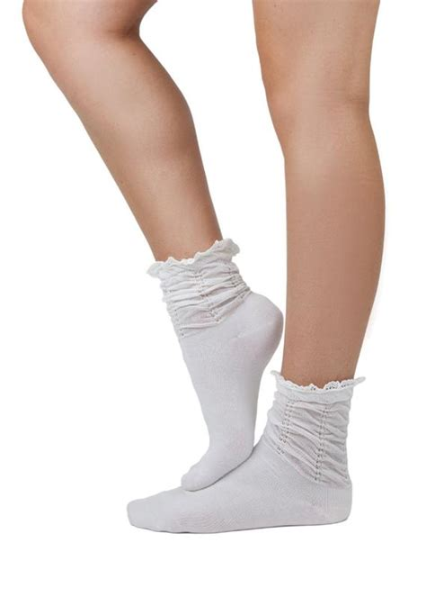 white lace ankle boot socks low boot socks by gertiebaxter